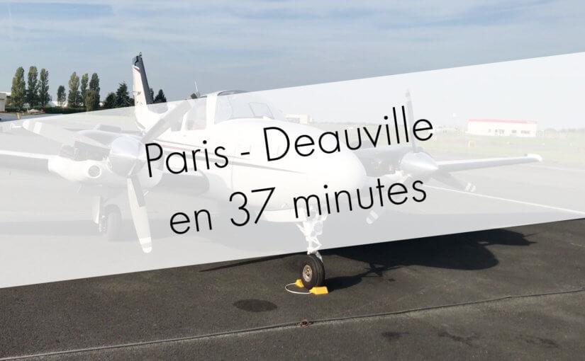 Paris – Deauville en 37 minutes